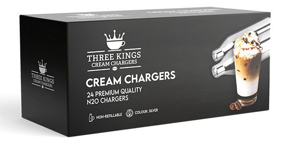 Three Kings N2O Chargers